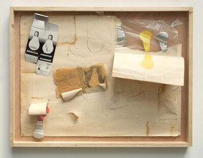 Malcolm Le Grice, 'Lightbulb Assemblage', 1965