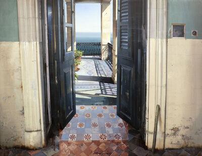 Matteo Massagrande, 'La porta blu del mare', 2020