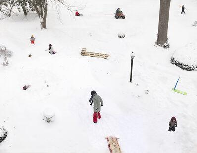 Julie Blackmon, 'Snow Days', 2021