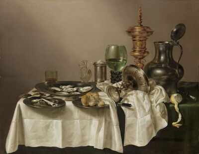 Willem Claesz Heda, 'Still Life with a Gilt Cup', 1635