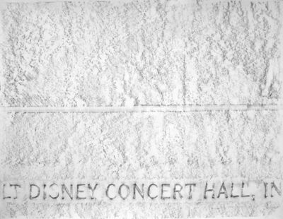 Andreas Fogarasi, 'Walt Disney Concert Hall (Donor Recognition Structures)', 2006