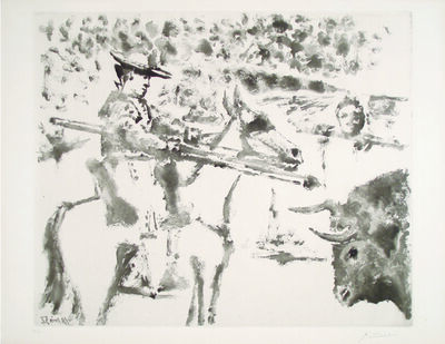 Pablo Picasso, 'Le Picador', 1952