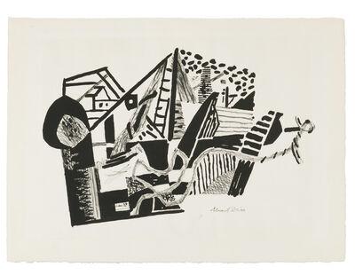 Stuart Davis, 'Anchor', 1936