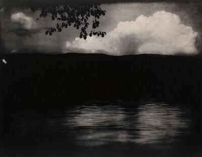 Edward Steichen, 'The Big White Cloud, Lake George', 1903