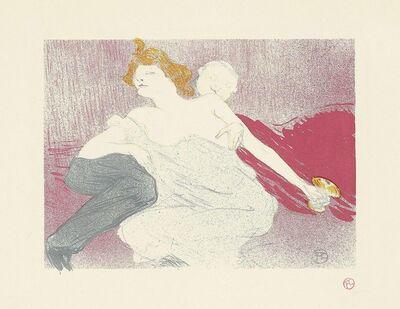Henri de Toulouse-Lautrec, 'La Debauche (deuxieme planche)', 1896