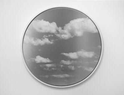 Miya Ando, 'Kumo (Cloud) Tondo 4.3,', 2019