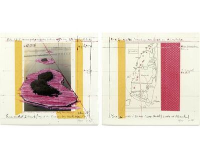 Christo, 'Surrounded Islands, project for Biscayne Bay, Greater Miami, Florida (2-part)', 1987