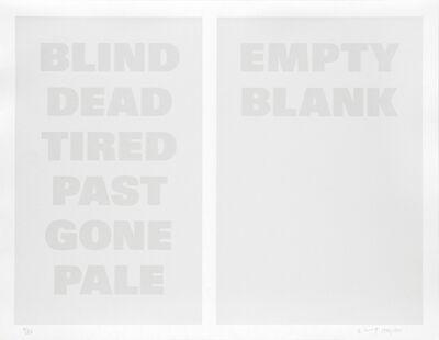Remy Zaugg, 'Untitled (B)', 1986-1994