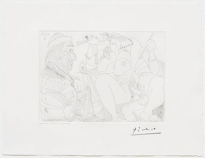 Pablo Picasso, 'Raphael et la Fornarina XVI..., from the 347 Series', 1968