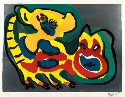 Karel Appel, 'Come Back Pussy Cat', 1974