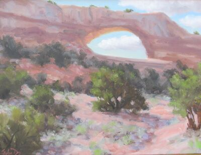 Stephen Day, 'Wilson Arch Near Moab, Utah', 2021