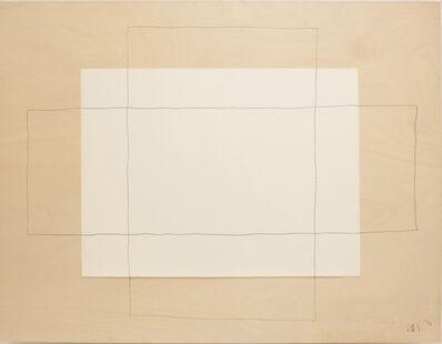 Susumu Koshimizu, 'Drawing Relief 1', 1992