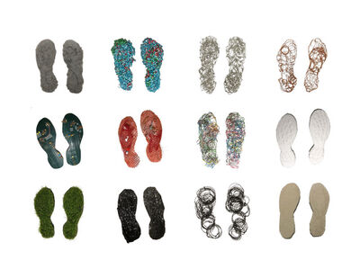 Richelle Gribble, 'Eco Footprints', 2018