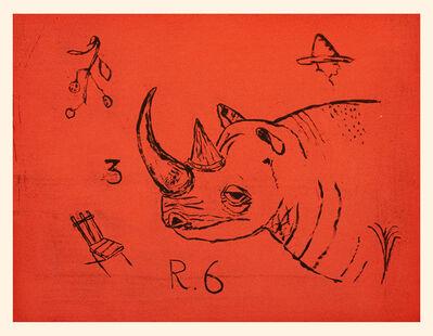 Maira Kalman, 'Rhinoceros', 2012