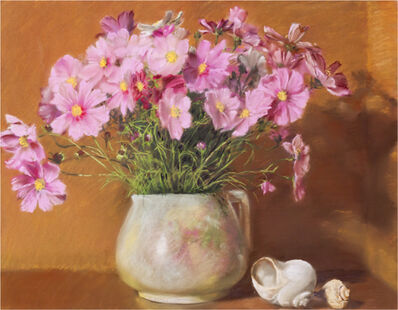 Mary Joan Waid, 'Grandma's Pitcher with Cosmos', 2009