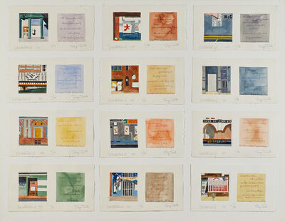 Jean Holabird, 'Downtown Sketches', 1981