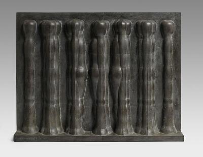 Joannis Avramidis, 'Kleine Relief (mit 7 Figuren)', 1963