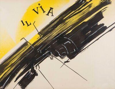 Gianni Bertini, 'Le fuite de Mercure', 1957