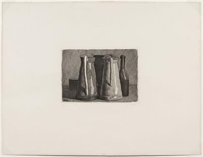 Giorgio Morandi, 'Natura morta con cinque oggetti, 1956 (Vitali 116)', 1956