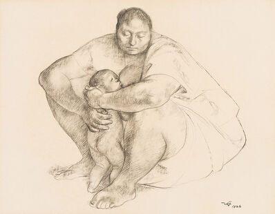 Francisco Zúñiga, 'Untitled (Mother and Child)', 1966