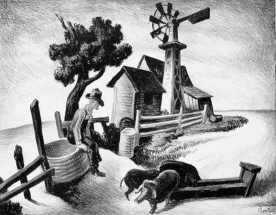 Thomas Hart Benton, 'In the Ozarks (Homestead)', 1938