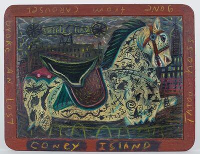 Tony Fitzpatrick, 'Coney Island / Steeple Chase', 1980-1985