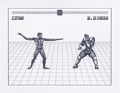 Arno Beck, 'Zeus vs. M.Bison', 2020