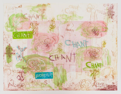 "Joan Snyder, '""Chant/Forever""', 2018"