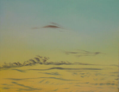 Helen Miranda Wilson, 'Cirrus Clouds, After Sunset', November-1997