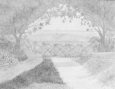 Mike Rivera, 'El Gonquin Bridge Rough Draft', 2008