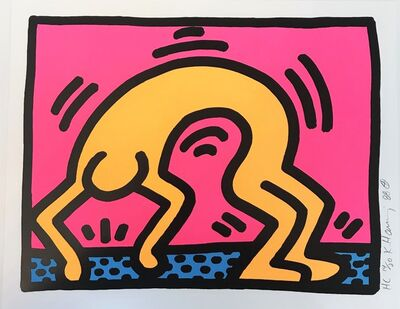 Keith Haring, 'Pop Shop II (2)', 1988