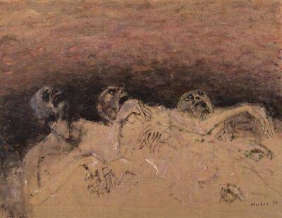 Zoran Antonio Mušič, 'Non Siamo Gli Ultimi', 1974