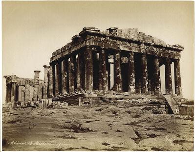 """Félix Bonfils, '""""Gréce. Le Parthenon à Athèns""""', 1877"""