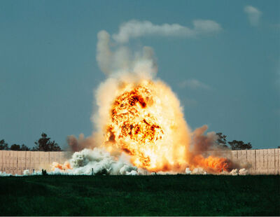Taryn Simon, 'Exploding Warhead, Test Area C-80C, Eglin Air Force Base, Florida', 2007