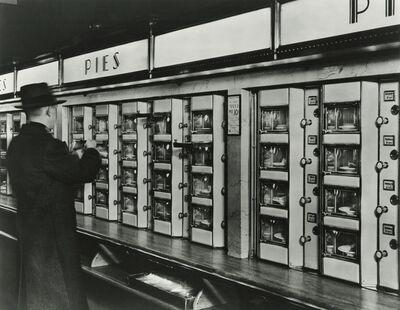 Berenice Abbott, 'Automat, 977 Eighth Avenue, New York', 1936