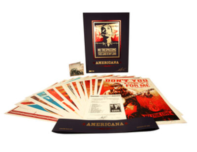 Shepard Fairey, 'Americana Box Set '