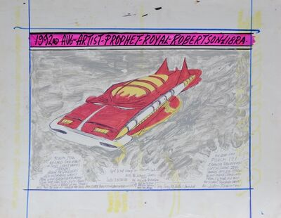 Royal Robertson, 'Spaceship Car', 1990-1992
