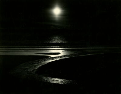 """Wynn Bullock, '""""And God said, let there be light""""', 1953"""