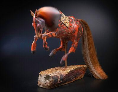 Shelley Muzylowski Allen, 'Apricot Horse', 2020