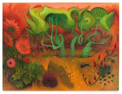 Inka Essenhigh, 'Orange Fall', 2020