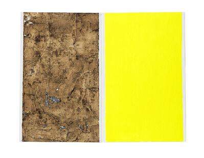 Shinro Ohtake, 'Yellow Shadow 2', 2015