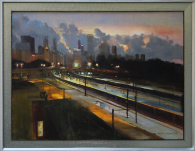 Mary Beth Karaus, 'Chicago After the Storm'