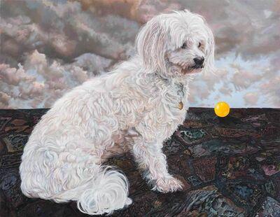 Deborah Poynton, 'Dog and Ball', 2021