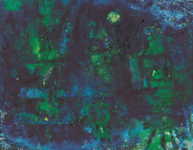 Nam Kwan, 'Composition of Blue', 1987