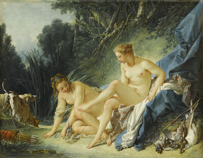 François Boucher, 'Diana Leaving Her Bath', 1742