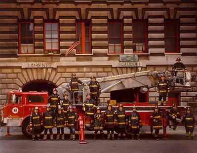 Neal Slavin, 'Firemen; New York City Fire Department', 1972