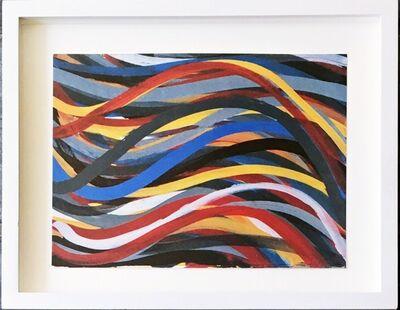 Sol LeWitt, 'Brushstrokes: Horizontal and Vertical, One Horizontal Plate (Cat. Rais: 1996.02, Krakow)', 1996