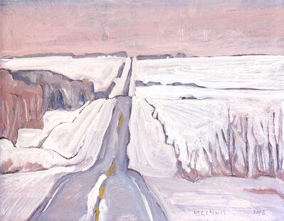 RFM McInnis, 'WINTER ROAD', 2008