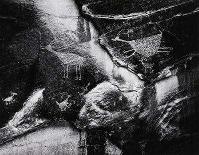 Ansel Adams, 'Petroglyphs, Monument Valley, Utah', 1958