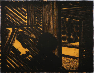 Howard Hodgkin, 'Artist and Model', 1980
